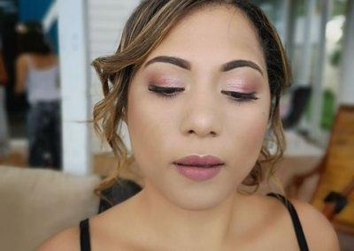 bridal makeup hair J