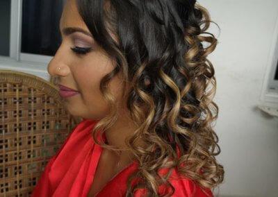 bridal hair makeup A