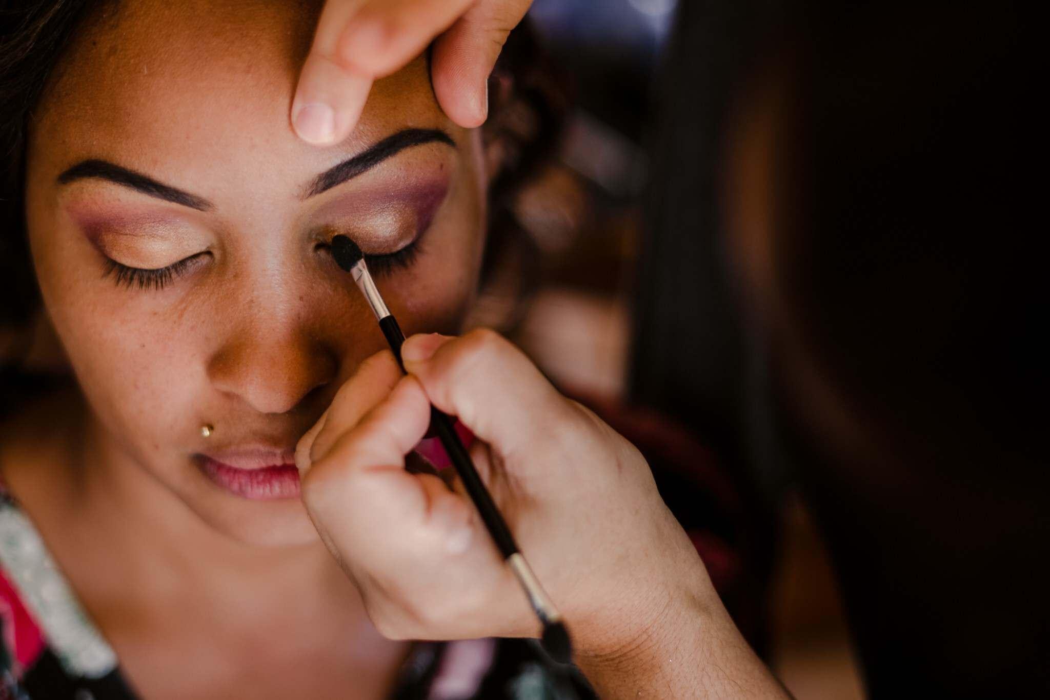 weeding makeup